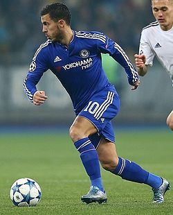 File photo of Eden Hazard, 2015. Image: Aleksandr Osipov (flickr).