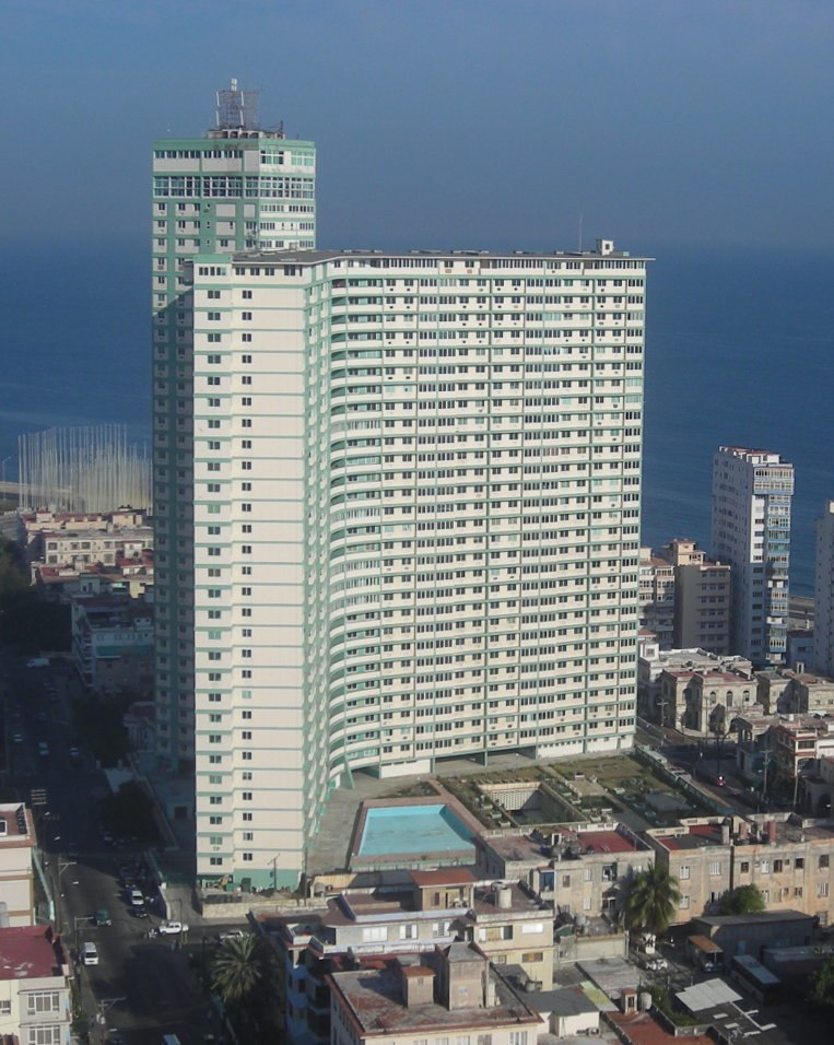 Edificio Focsa-La Habana-Cuba