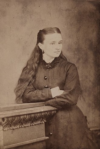 Edith Cowan - Cowan as a teenager, taken c. 1876