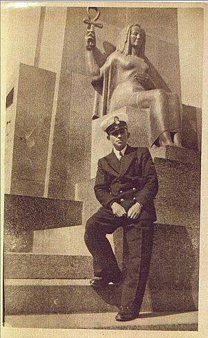 Edmond Wilhelm Brillant - Edmond Wilhelm Brillant at Port Said, Egypt, in 1942