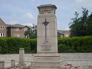 Edmonton Green Shopping Centre -  The War Memorial