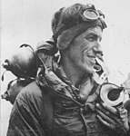Edmund Hillary on 29 May 1953 after reaching the Mount Everest summit (cropped).jpg