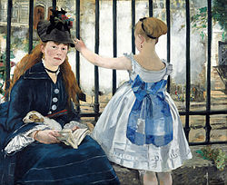 Édouard Manet: Saint-Lazare Garı