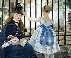 Gare Saint-Lazare - Édouard Manet: The Railway