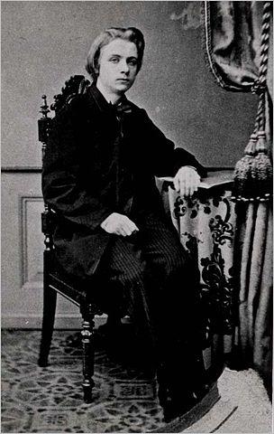 Эдвард Григ в 1858 году