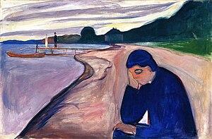 Melancholy (Edvard Munch) - Image: Edvard Munch Melancholy (1893)