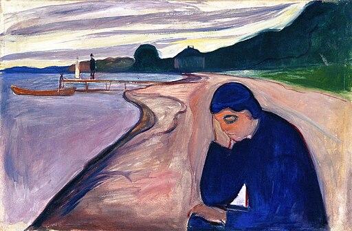 Edvard Munch - Melancholy (1893)