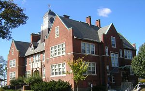 Edward B. Newton School - Image: Edward B Newton School Winthrop MA 02