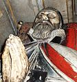 Effigy of John Still at his tomb in Wells Cathedral, Somerset, UK - 20080318.jpg