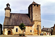 Église Saint-Martin de Gignac Lot