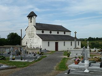 Abère - The church of Abère