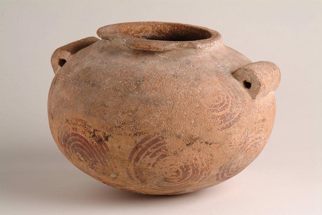 Fileegyptian Pre Dynasticflattened Spherical Vase Hargm 10051g