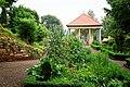 Eisenberg (Thuringia), the herb garden at the château.jpg