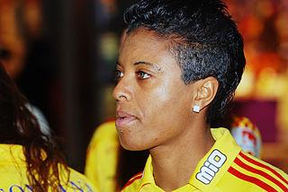 Elaine Estrela Moura Brazilian association football player