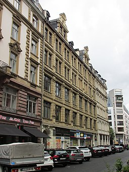 Elbestraße in Frankfurt am Main