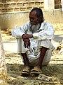 Elderly Man at Malnicherra Tea Estate - Sylhet - Bangladesh (13008327724).jpg