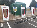 Electric vehicle charging station in Grantham - 1.jpg