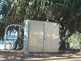 Electrical enclosure - A municipal electrical enclosure