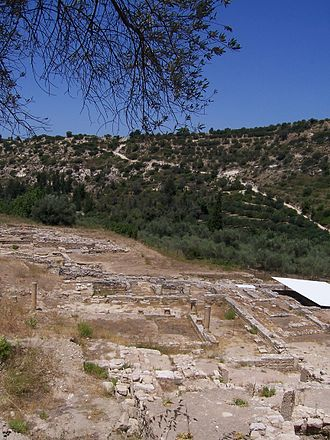 Museum of Ancient Eleutherna - The archaeological site of Eleutherna