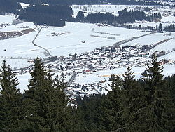Ellmau in winter