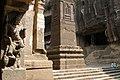 Ellora Caves, India, Pillars at Kailasa Temple.jpg