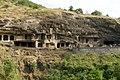 Ellora Caves, India, Rock-cut monastery temple caves.jpg