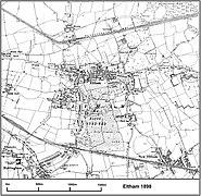 Eltham map 1898