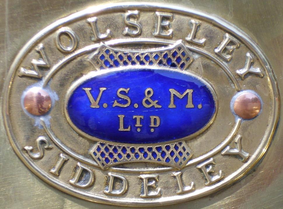 Emblem Wolseley-Siddeley V S %26 M copy