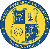 Emblem of the Naval Research Laboratory of the United States Navy (blue-yellow).jpg