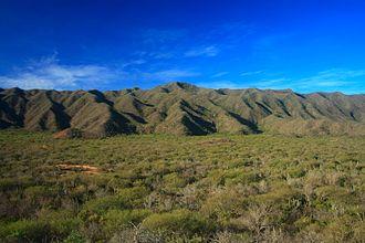 Araya Peninsula - The highest elevation in the península.