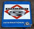 Enamel advertising sign, Specialist International BIPAVER.JPG