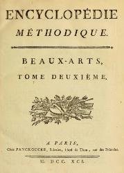 Encyclopédie méthodique - Beaux-Arts, T02.djvu