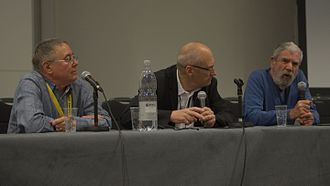 The Encyclopedia of Science Fiction - Malcolm Edwards, John Clute and Peter Nicholls discussing the early days of The Encyclopedia of Science Fiction at Loncon 3, Worldcon 2014.