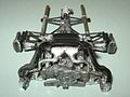 Engine, transmission, suspension, exhaust, intercooler, from front, above (7996558193).jpg