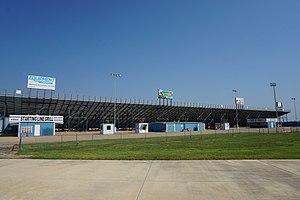 Texas Motorplex - Texas Motorplex grandstands