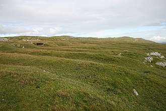 Agriculture in Scotland in the early modern era - Lazybeds on Ensay, Outer Hebrides