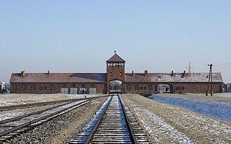 World War II casualties of Poland - Entrance to Auschwitz-Birkenau