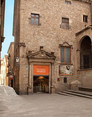 Museu Frederic Marès - Image: Entrada Museu Frederic Marès