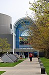 Entrance to the Museum of the US Air Forces, Dayton, Ohio. (28020924598).jpg