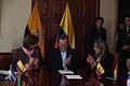 Entrega por parte de Colombia del Instrumento de Ratificación del Tratado Constitutivo de la UNASUR a Ecuador. (6512964603).jpg