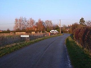Sibthorpe Human settlement in England