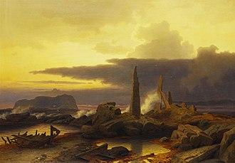 Erik Bodom - Image: Erik Bodom Minnesteiner (1868)