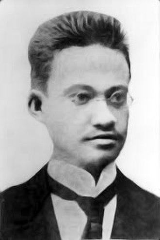 Ernst Mielck - Ernst Mielck in 1898