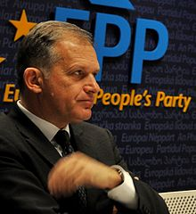 Ernst Strasser at EPP Conference on Cyber Security (5389731063) (cropped).jpg