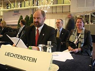 Ernst Walch Liechtenstein politician