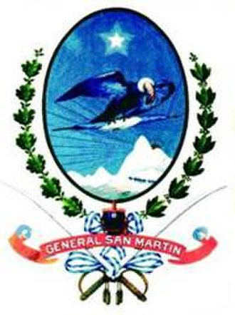 General San Martín Partido - Image: Escudo MGSM