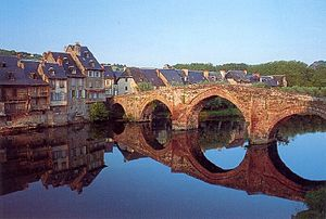 Espalion - Image: Espalion pont