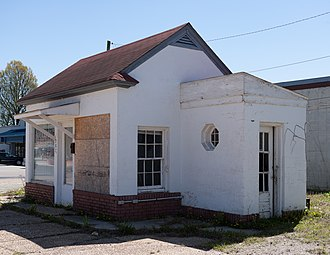 National Register of Historic Places listings in Clay County, Arkansas - Image: Esso Station
