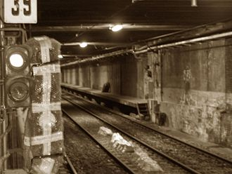 Pasco Sur (Buenos Aires Underground) - Image: Estacion Pasco sur (SBA)