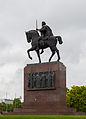 Estatua de Tomislav de Croacia, Zagreb, Croacia, 2014-04-20, DD 02.JPG